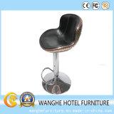 Sgabelli di barra industriali del cuoio della mobilia del metallo