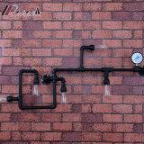 棒のための現代創造的な鉄の水道管の壁ライト