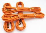 """1/4 """" Duim - Montage van de Slang van LPG van hoge Prestaties de Oranje Rubber"""