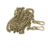 Acessórios de moda Dongguan Cadeia longa de saco de metal dourado