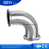 304 / 316L Sanitaria de sujeción acodado 90 Deg (DYTF-030)