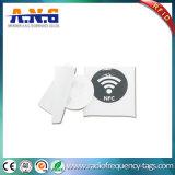 13.56MHz Hf ISO14443A RFIDの円のステッカーNFCはラベルを印刷した