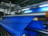 Encerado de lona resistente UV brilhante do PVC