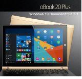 Originele Onda Obook 20 plus Vensters 10 van 10.1 Duim Huis mengt OS 2.0 (of Androïde 5.1) opnieuw Dubbele OS PC van de Tablet van de Kern van de Vierling van Intel 4GB 64GB