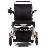Cadeira de rodas de dobramento automática de pouco peso idosa da potência com bateria de lítio