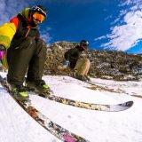 Lunettes de ski Frameless UV400 Anti-Fog Snowmobile Skate Glasses