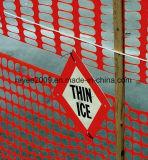 Erstklassiges orange Sicherheits-Alarm-Netz-warnendes Netz leicht installieren