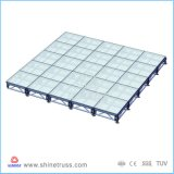 Fase registrabile di altezza di alluminio per la prestazione