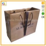 Подгонянная профессионалом бумажная хозяйственная сумка печатание (OEM-GL003)