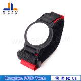 Wristband de nylon modificado para requisitos particulares de RFID para los paquetes del aeropuerto
