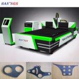 Faible prix de la faucheuse laser CNC La fibre métallique de machines de découpe laser
