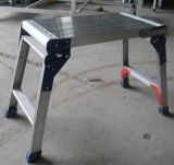 De draagbare Ladder van het Platform van de Kruk van de Stap van het Aluminium Lichtgewicht Vouwende