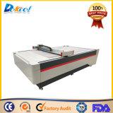 Máquina oscilante del trazador de gráficos del corte del cuchillo del CNC para la tarjeta, rectángulo del cartón, estera del pie