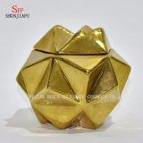 陶磁器4つのカラー/多角形の宝石箱