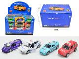 Die Cast Car Pull Back Vehicle Toys Modelo de metal de liga de carro (H1258204)