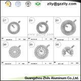 Profielen Heatsink van de Uitdrijving van het Aluminium van de Zonnebloem van de Verkoop van de fabriek de Directe van Bouwmateriaal