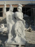 Scultura di pietra intagliata mano della statua di marmo della statua