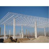 Estructura de acero del braguero de acero de la gasolinera