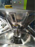 Mezclador vertical de sequía plástico del color del acero inoxidable