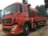 le camion lourd de cargaison des roues 8*4 12 a monté avec le prix de grue de XCMG