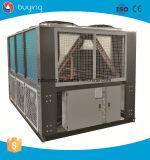 Refrigerador de refrigeração anti ar do parafuso da corrosão da água de mar para a indústria do chapeamento