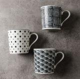 tazza di caffè di ceramica di Latte di sublimazione 12oz con la vostra stampa di marchio