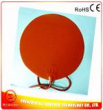 calentador del caucho de silicón del diámetro 320*1.5m m de 24V 400W para la impresora 3D