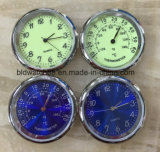 Рекламные аналоговых Quartz Mini металлические вставки часы с логотипом