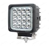 """Lampada resistente quadrata chiara del lavoro dell'automobile 48W 4 """" LED"""