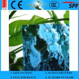 3-8mm En12150 rimuovono il vetro modellato colorato del reticolo di Mayflower di verde della pianta con Ce e AS/NZS 2208