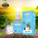 Monnaie Yumpor e cig super jus d'Série E E-liquide avec la DPT