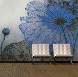 Precio de fábrica alta calidad de decoración de la pared a prueba de agua murales de pared exterior