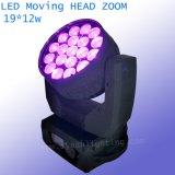 19*12W LED Wäsche-Summen-bewegliches Hauptlicht