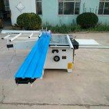 3000mm de comprimento de trabalho 45 graus de inclinação Placas de corte/ Madeira contraplacada mesa deslizante da placa de corte máquina de serra
