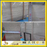 Good Sale White Wooden Vein Marble Slabs for Wall / Floor