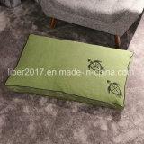 Materasso verde dell'animale domestico del materasso del cane di rettangolo
