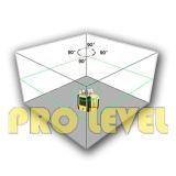 자동 수평하게 하기 녹색 Laser 회전하는 Laser 수준 (SRE-102AG)
