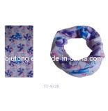 3개의 색깔 꽃 디자인 목 관