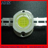 10W Blanco 1000-1100lm LED de alta potencia con RoHS (HH-10BM1CW33M)