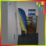 Indicateur de publicité fait sur commande de clavette de drapeau de vol de promotion extérieure de prix usine