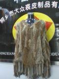 Mantón de conejo con el mapache decorado B-001).