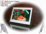 11.0 pouces Cadre photo numérique avec de nouveaux TFT LCD