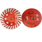 Абразивный диск чашки Turbo стальные/диск диаманта