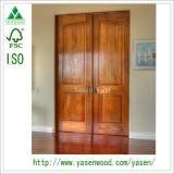 La Chine Factory Design extérieur traditionnel porte en bois