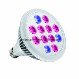 빨강 3 파란 Hydroponic LED가 밝은 파란색 12W 실내 플랜트를 증가하는 9개는 빛을 증가한다