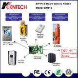 駐車場のIntecom PCBのボードのKntech Kn518 VoIPのカードキットの表面の台紙