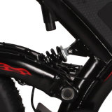 La rotella 2 si leva in piedi in su la bicicletta elettrica della montagna di approvazione del Ce dell'inclusione