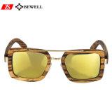 2018 óculos de sol feitos sob encomenda de madeira das lentes luxuosas novas da cor das chegadas