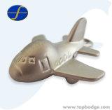 Het leuke Metaal Keychain van de Vorm van het Vliegtuig voor Gift