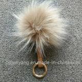 Pelliccia reale dell'animale dei Pompoms/della pelliccia del Raccoon di vendita calda
